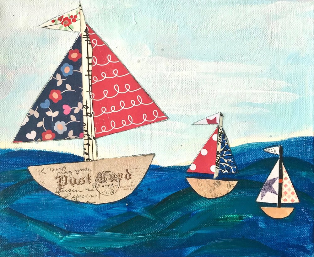 Toy Boats - 8x10 - $73