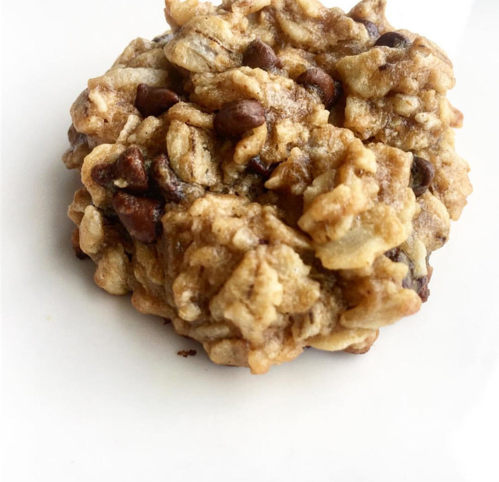 HopefullyPlated Peanut Butter Oatmeal Cookies
