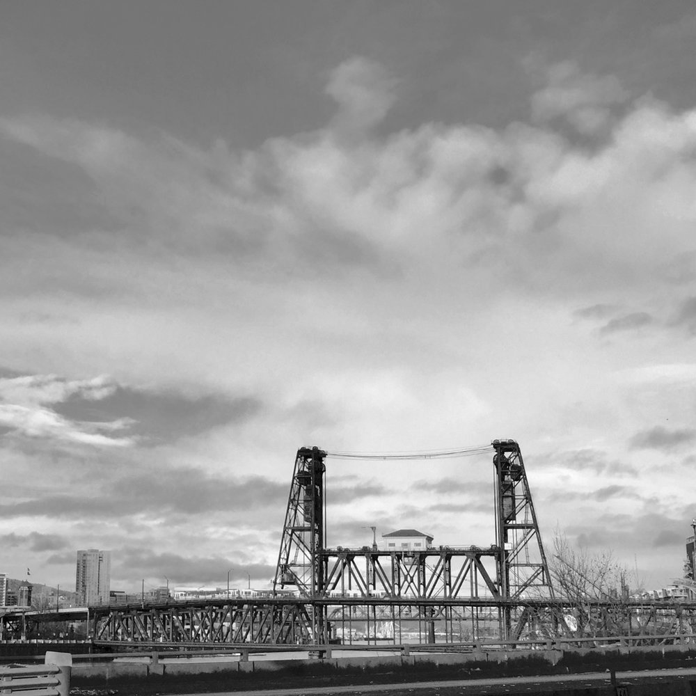 Steel Bridge in Portland, Oregon. Photo by: MB