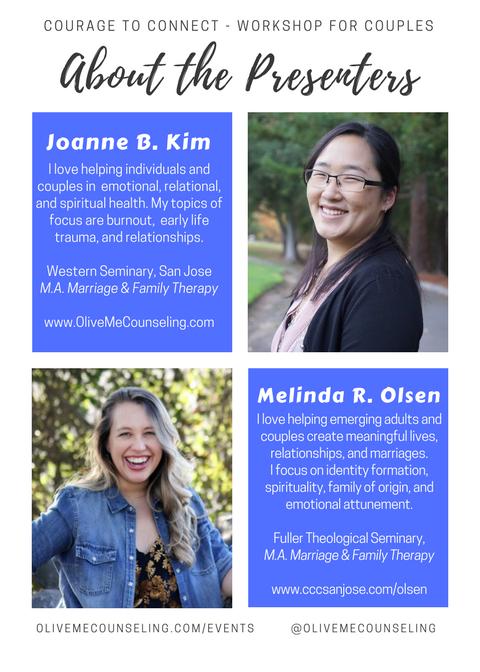 Joanne Kim Couples Seminar Workshop