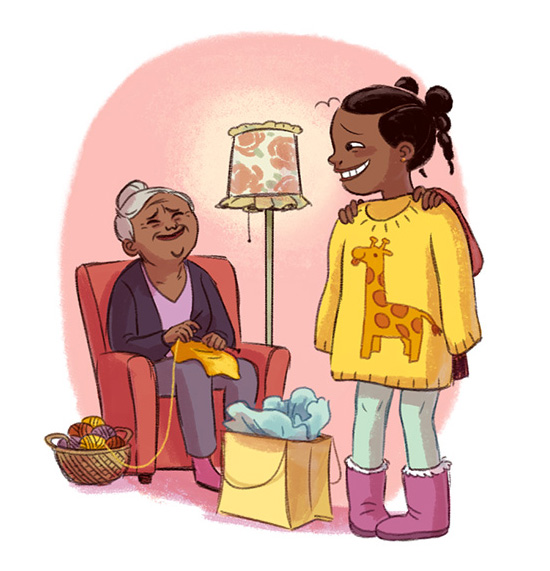 Illustrations for American Girl Magazine