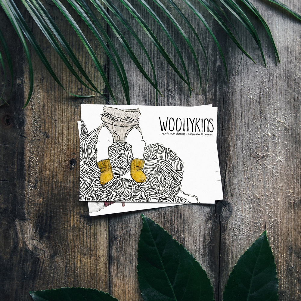 Illustration and logo redesign for the wonderful Woollykins
