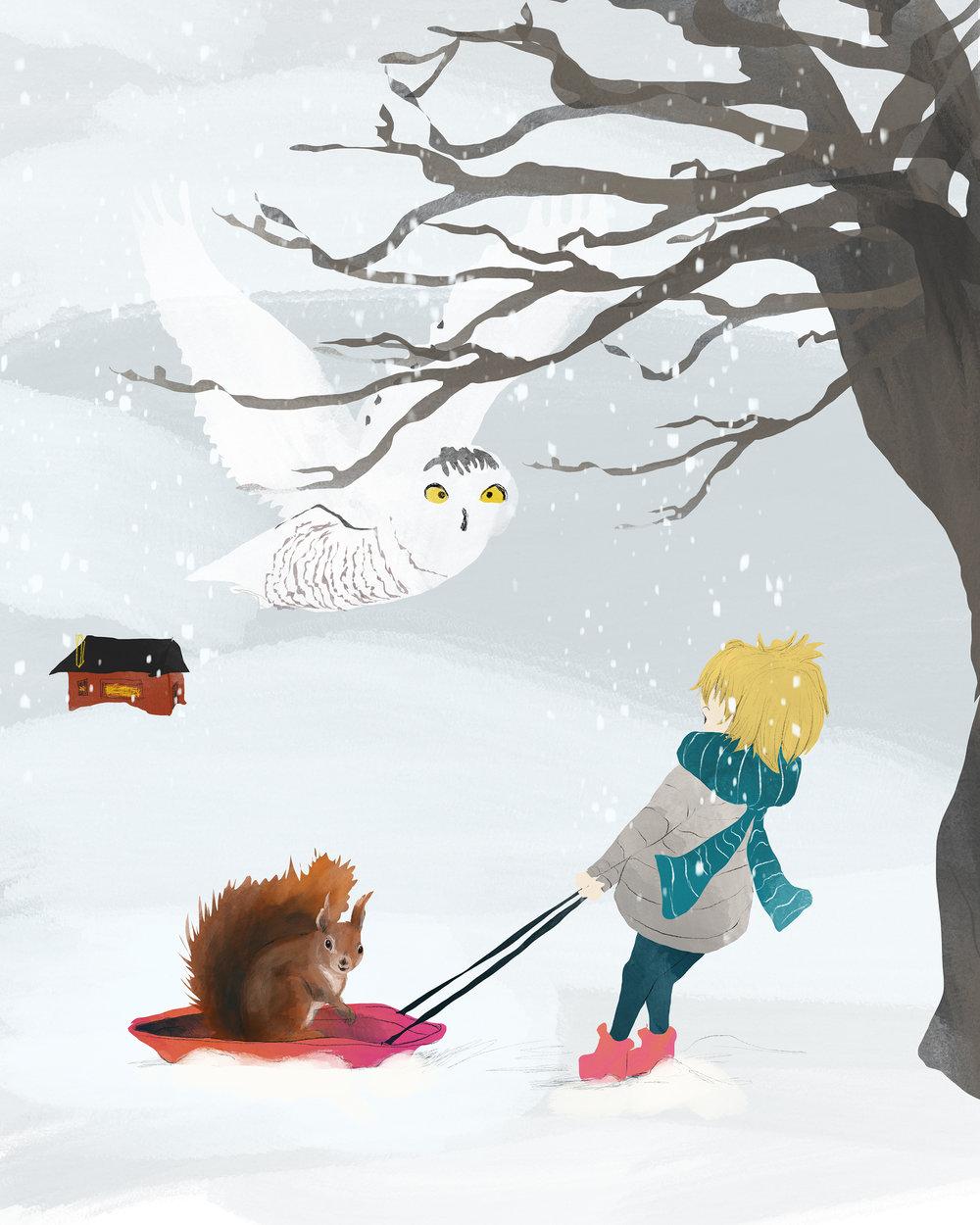 Sammy and the snowy owl - smaller.jpg