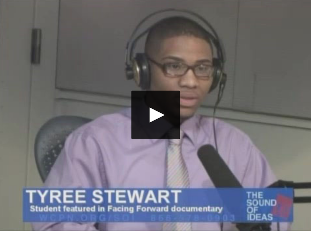 Click here to view Tyree Stewart's interview on  Sound of Ideas .