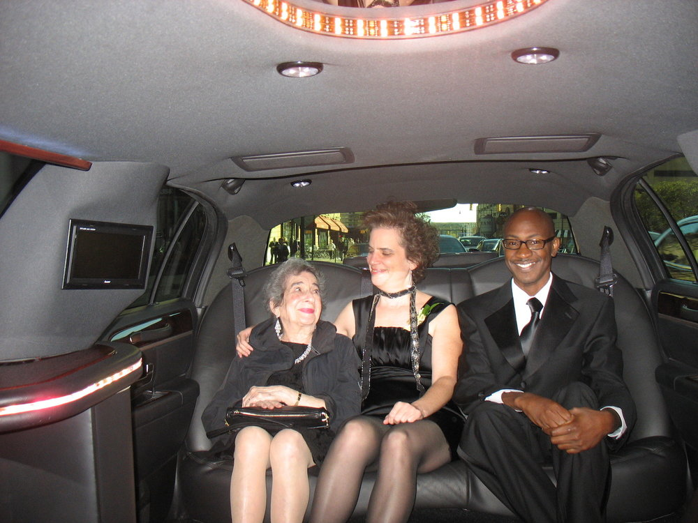 Riding to the Awards Gala