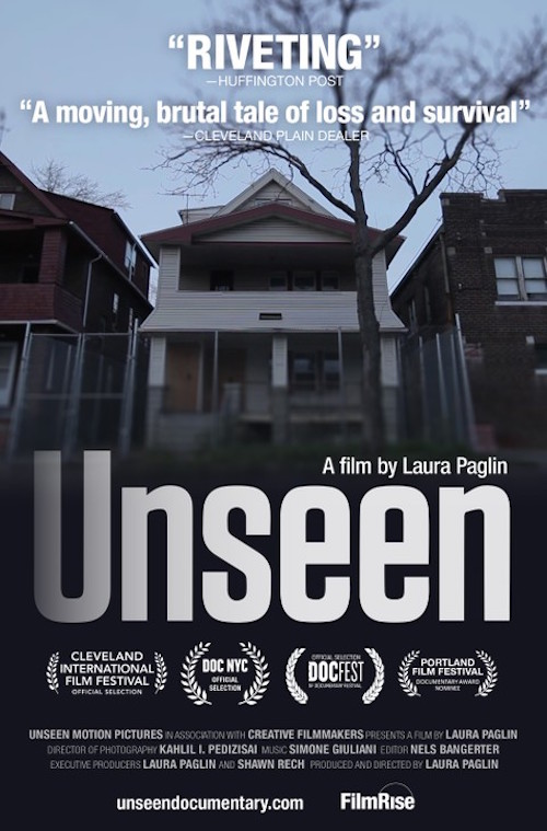 FilmRise has released Laura Paglin's 'Unseen.'