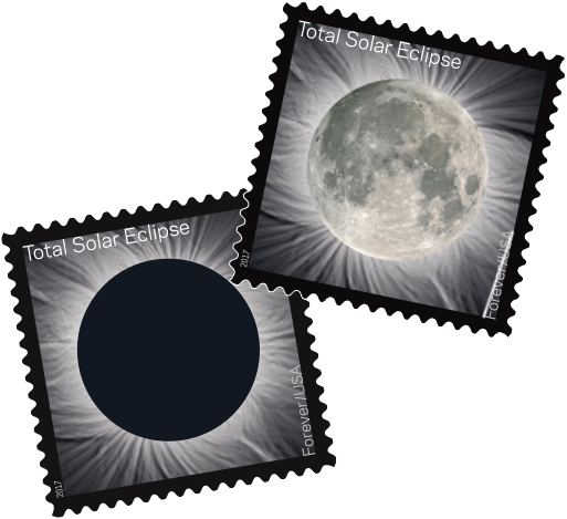 USPS Solar Eclipse Stamps