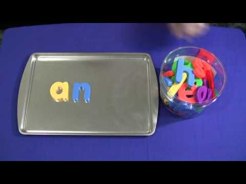 Cookie sheet + magnetic letters