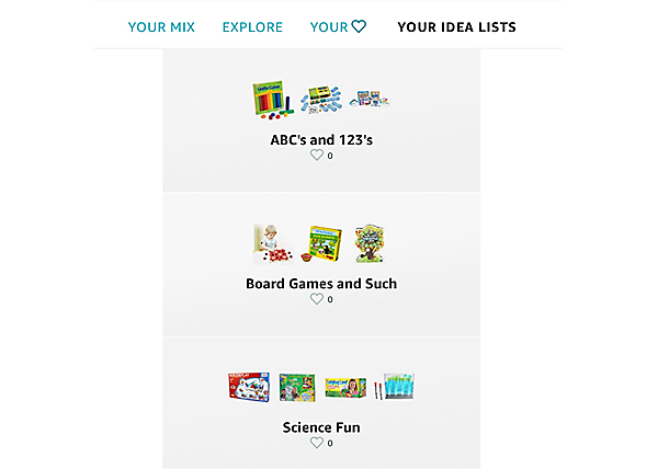 For a complete list of gift-giving ideas, be sure to also check out my Idea Lists for families over on  Amazon.