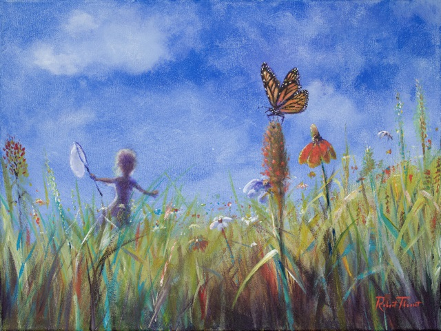Dreaming: Chasing Butterflies by Robert Theriot