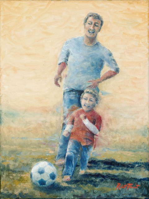 Dreaming: Beating Dad at Soccer By Robert Theriot