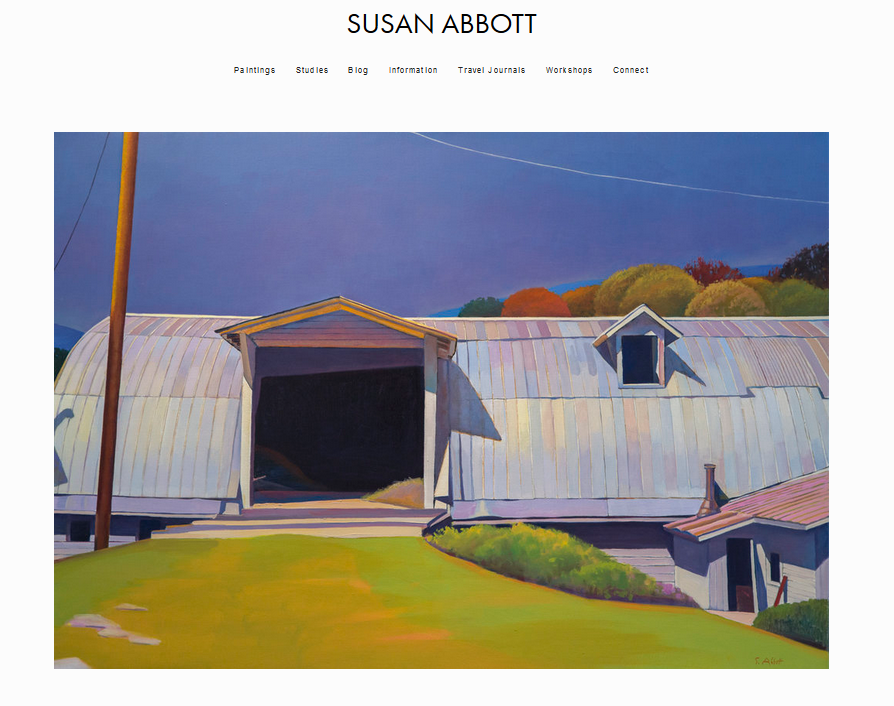 Client: Susan Abbott | Project scope: Support -site updates and optimization with  Squarespace,  SEO.