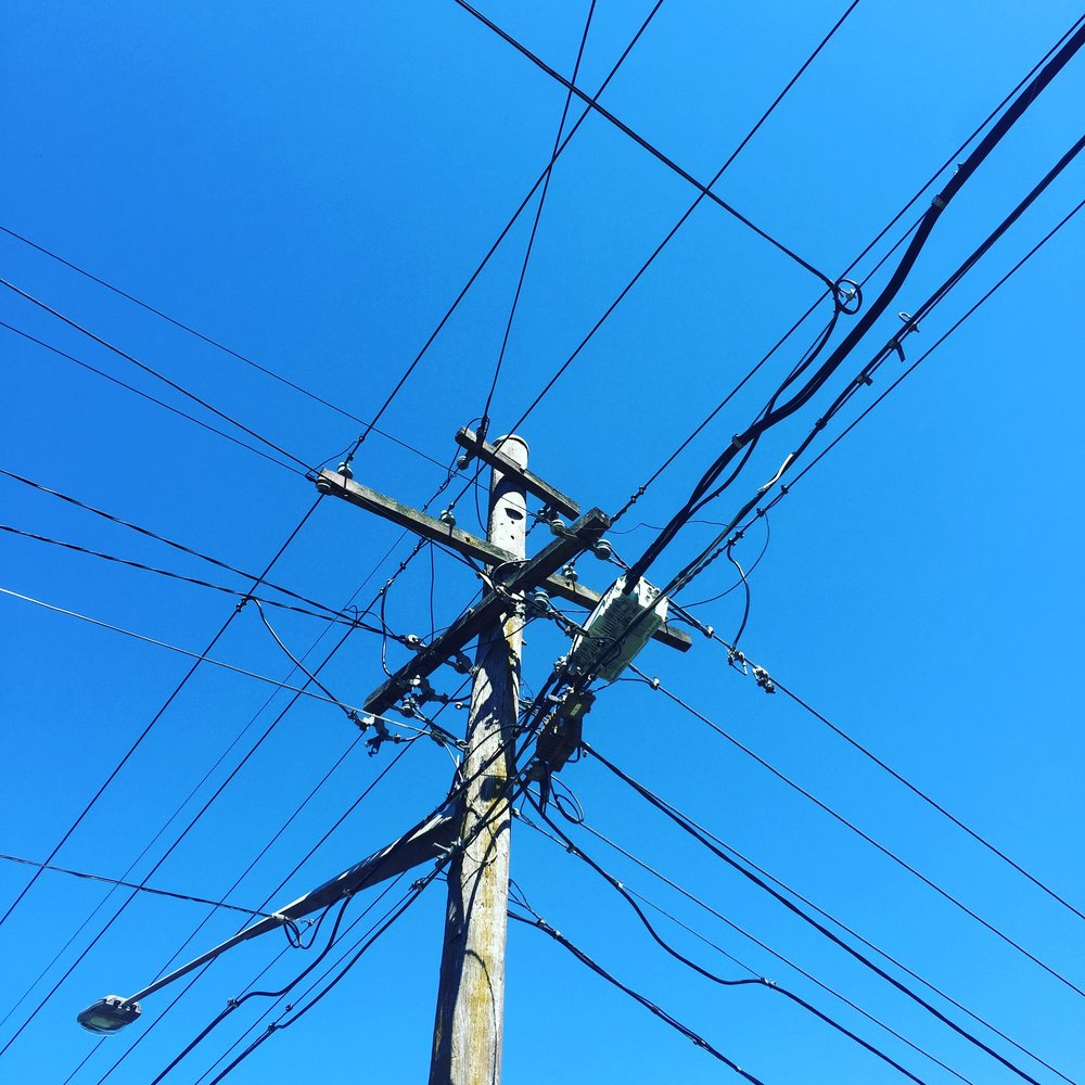 Be the Telegraph pole that holds it all together, not the wires that get crossed.