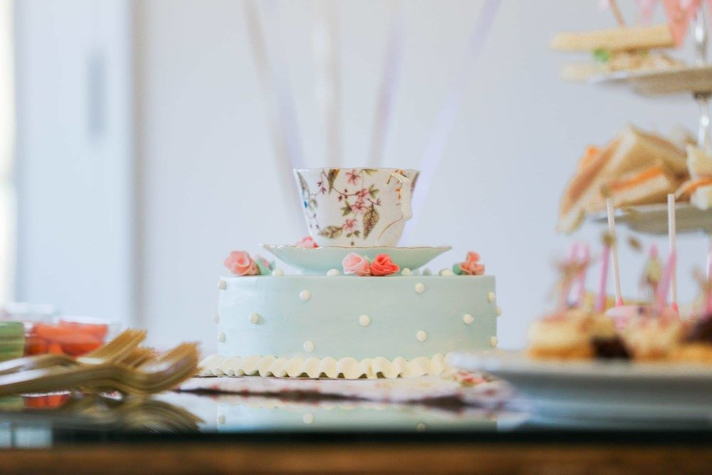 All in the Mix- Tea Party Cake