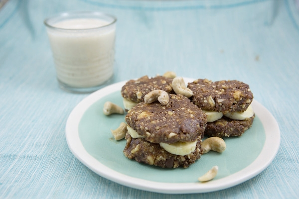Raw Chocolate Chip Cookie Banana Sandwich 2.jpg