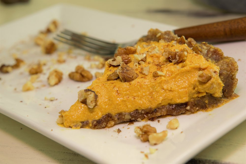 Healthier Gluten Free Pumpkin Pie