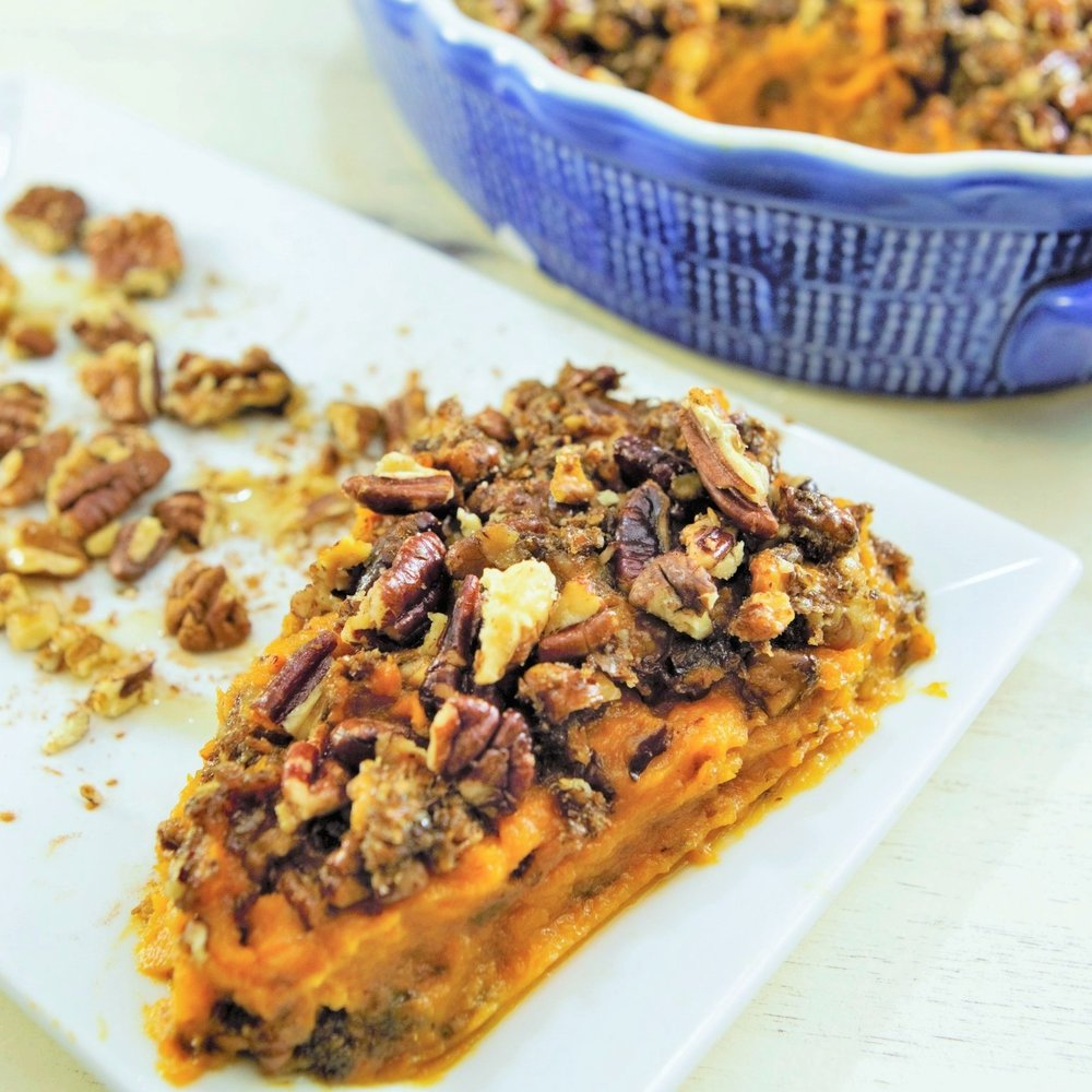 Inflammation Healing Sweet Potato Casserole
