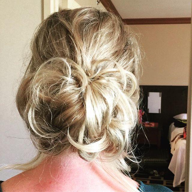 Another wedding hair picture. #andrewscottsalon #abqhair #abqhairstylist #journalcenter #salon #salonlife #nmsalon #weddinghair