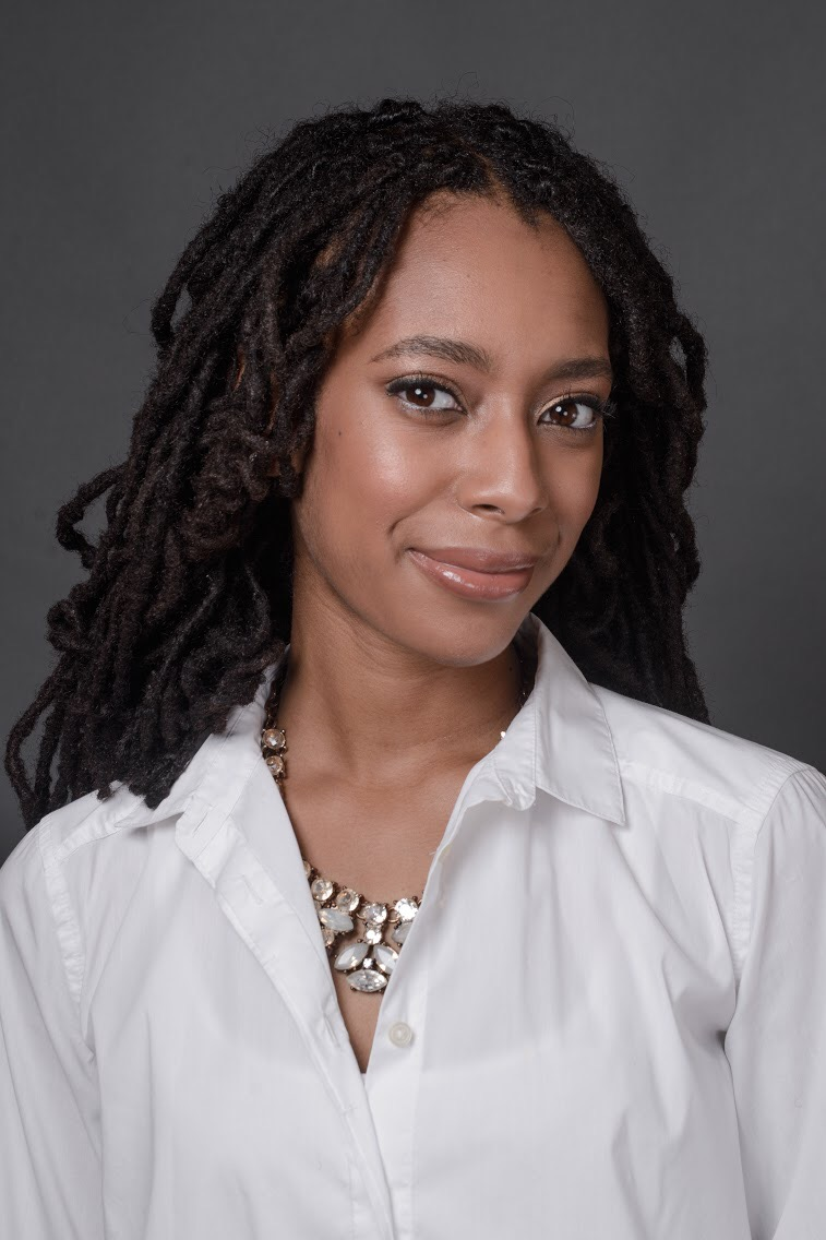 Headshot of Fatimah Austin Hunter taken by Lola Scott.