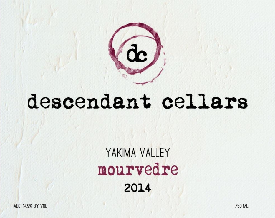 2014 Yakima Valley Mourvedre front.jpg