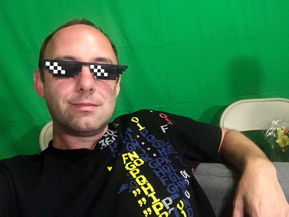 Elli's stolen sunglasses
