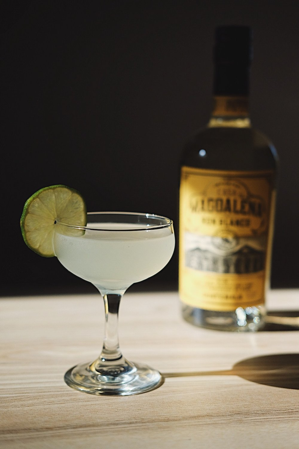 ingredients: - 2 oz your choice of rum3/4 oz fresh lime juice1/2 oz simple syrup