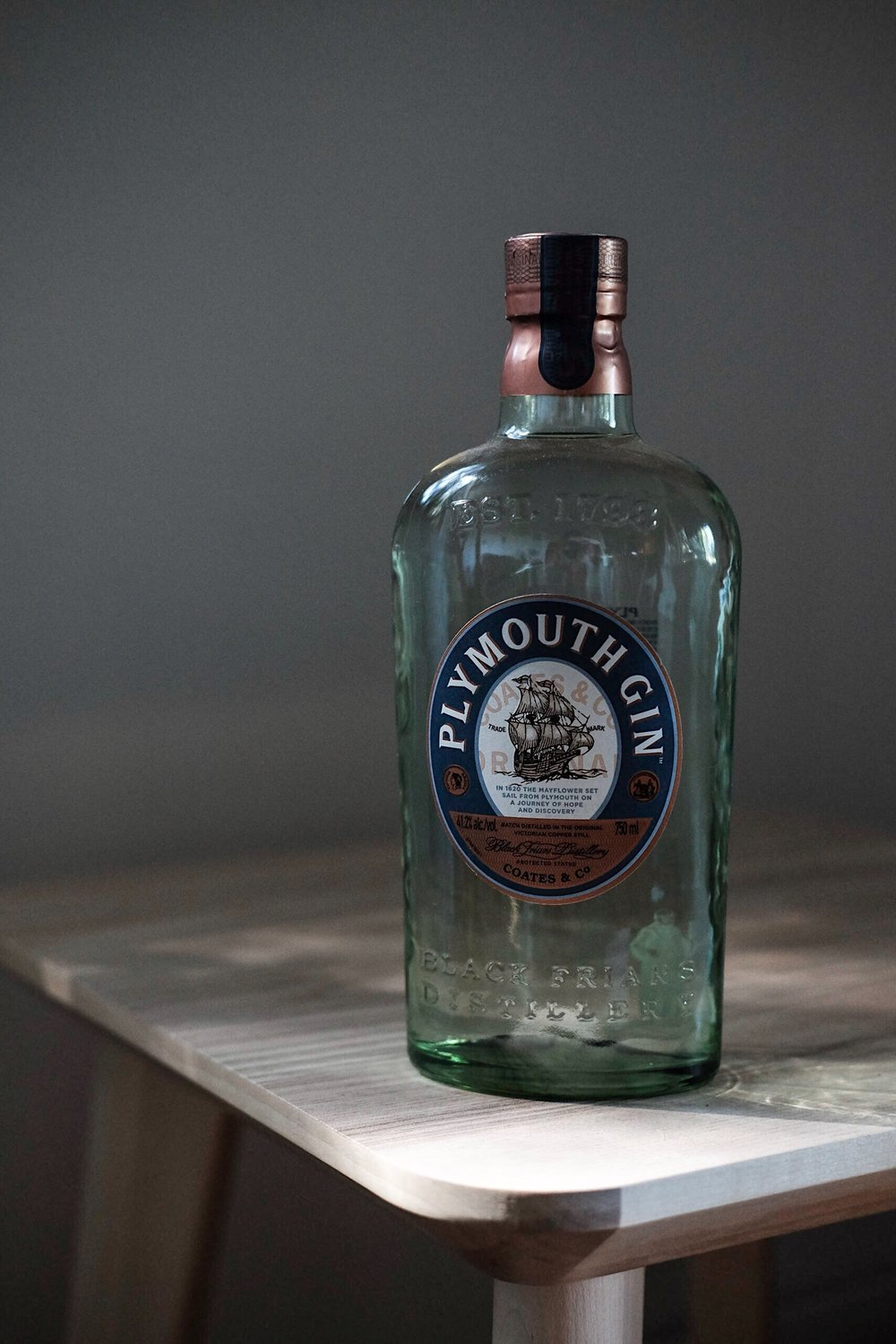 Plymouth Gin - AGE: unagedCOST: $26-$32ABV: 41.2DEFINING FLAVORS: Spicy & Fruity