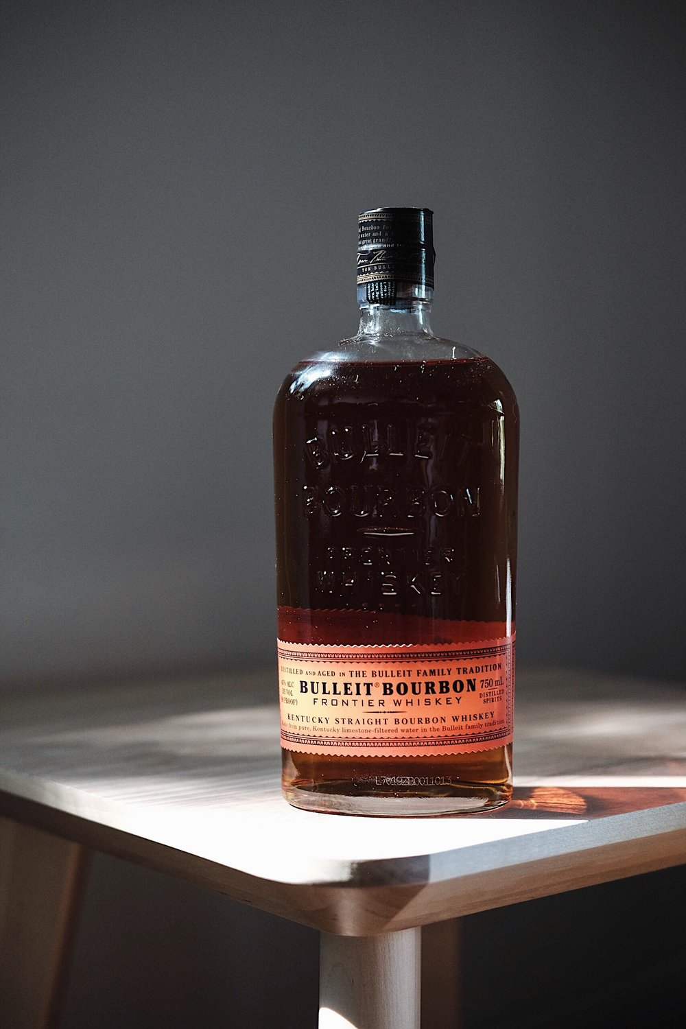 Bulleit Bourbon - AGE: 6+ yearsCOST: $25-$32ABV: 45DEFINING FLAVORS: Spicy & Sweet