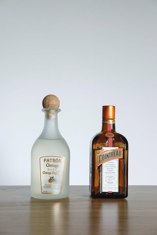 Triple Sec - Cointreau: $37Patron Citronge: $25