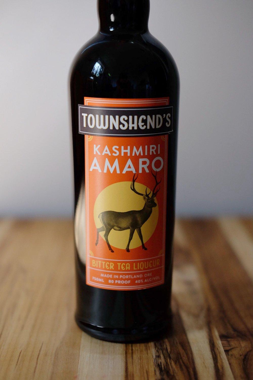 Kashmiri Amaro - AGE: n/aCOST: $35ABV: 40DEFINING FLAVORS: Bitter & Spicy