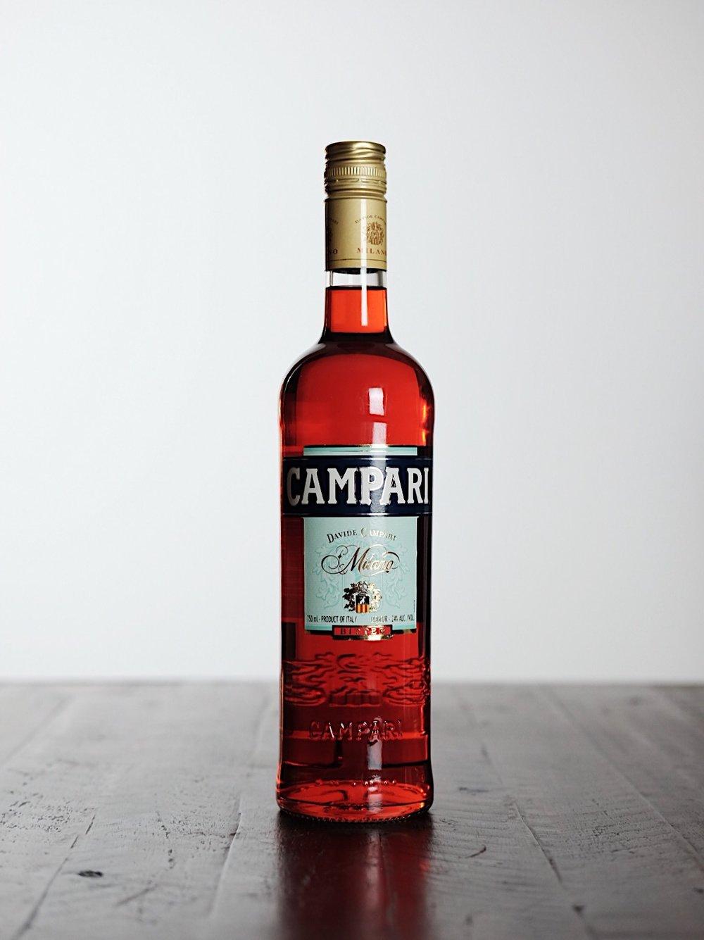 Campari - AGE: n/aCOST: $30-$35ABV: 24DEFINING FLAVORS: Orange Peels & Bitter