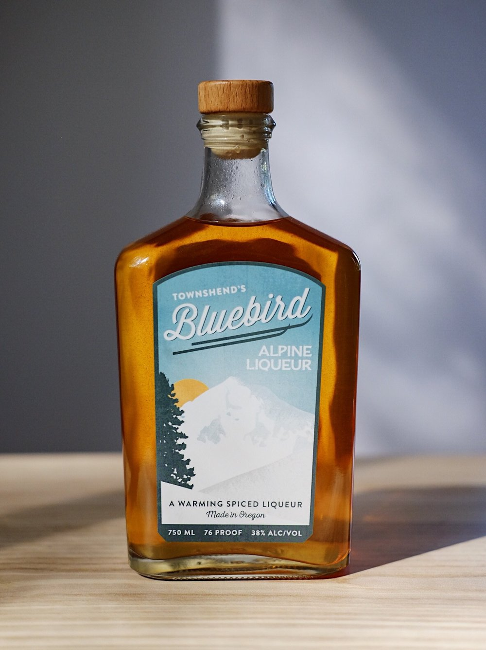 Bluebird Alpine Liqueur - AGE: n/aCOST: $32ABV: 38DEFINING FLAVORS: Sweet & Spicy
