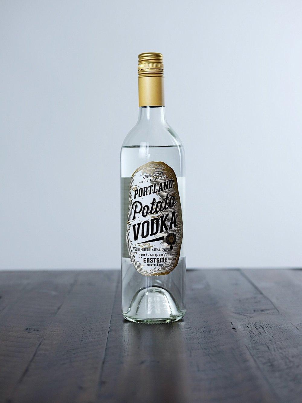Portland Potato Vodka - AGE: unagedCOST: $18ABV: 40