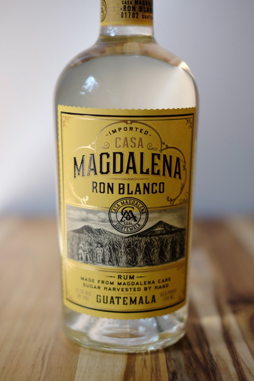 Magdalena Rum - AGE: unagedCOST: $19ABV: 41DEFINING FLAVORS: Sweet & Grassy
