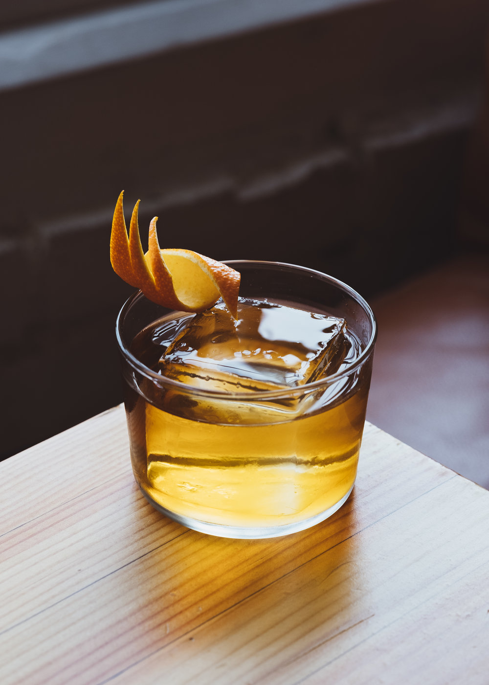ingredients: - 1 oz Avuá Cachaça Amburana½ oz Drambuie½ oz Townshend's Kashmiri Amaro2 dashes cardamom bitters2 dashes aromatic bitters