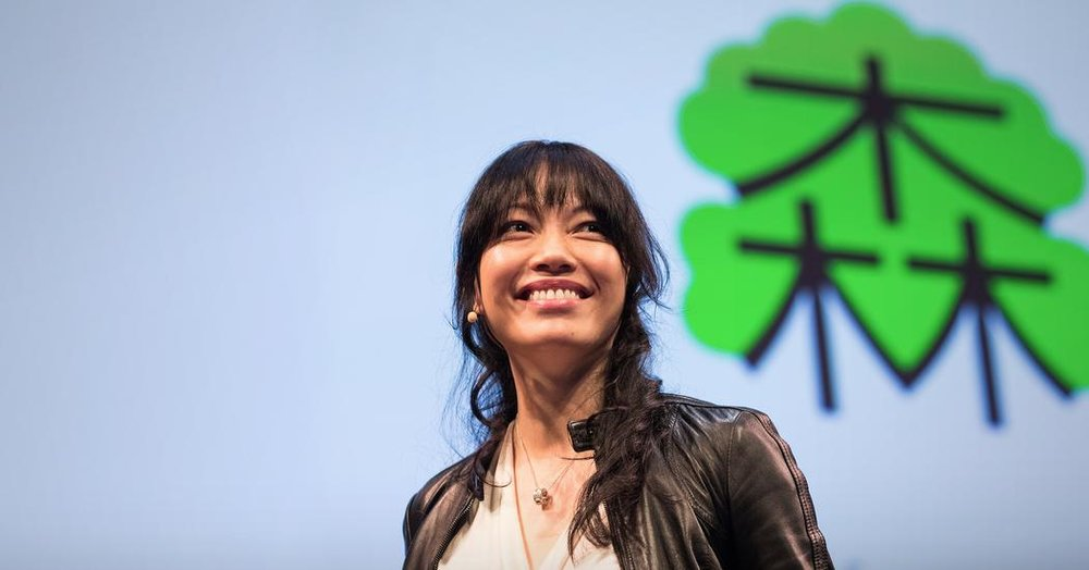 Founder of Chineasy, Shaolan, delivering a talk at  TED - full speech here.