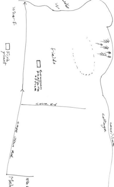 Map by Susan to racetrack.