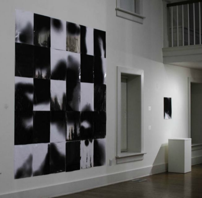 you are my favorite photograph • Installation view of month of memories at Herndon Gallery, Antioch College, 2012.