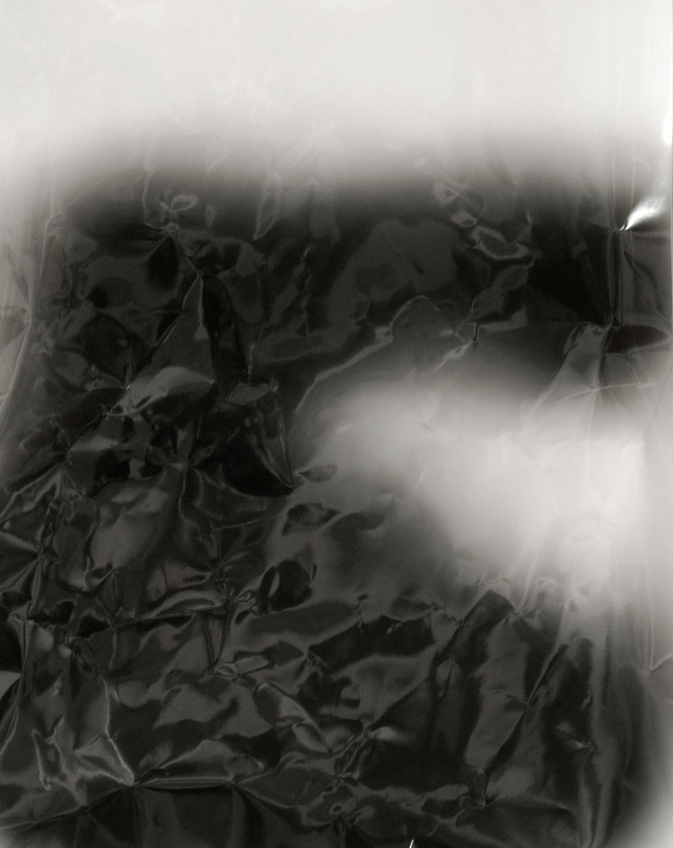 "Night 21/30 • 16 x 20"", resin coated silver gelatin print, 2010. All images have been slept on by myself with someone's description of a favorite photograph. Each sleep is a unique exposure"