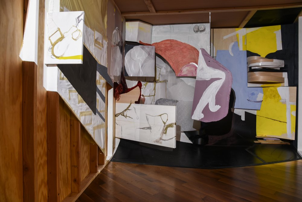 Stack, installation view