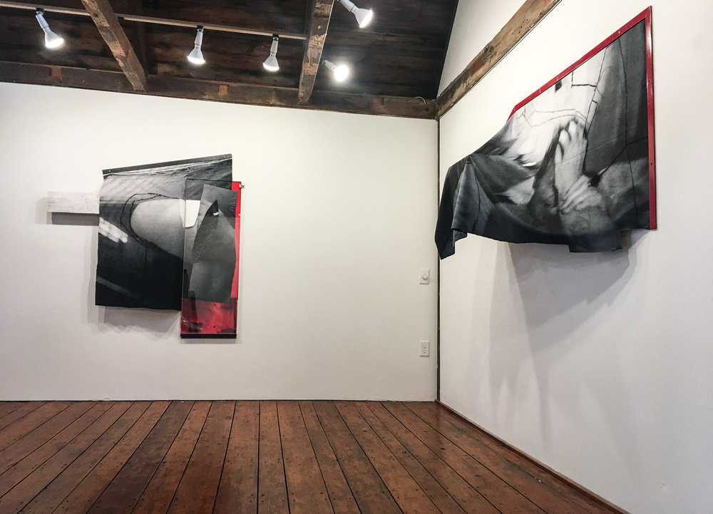Installation view of House Becomes You