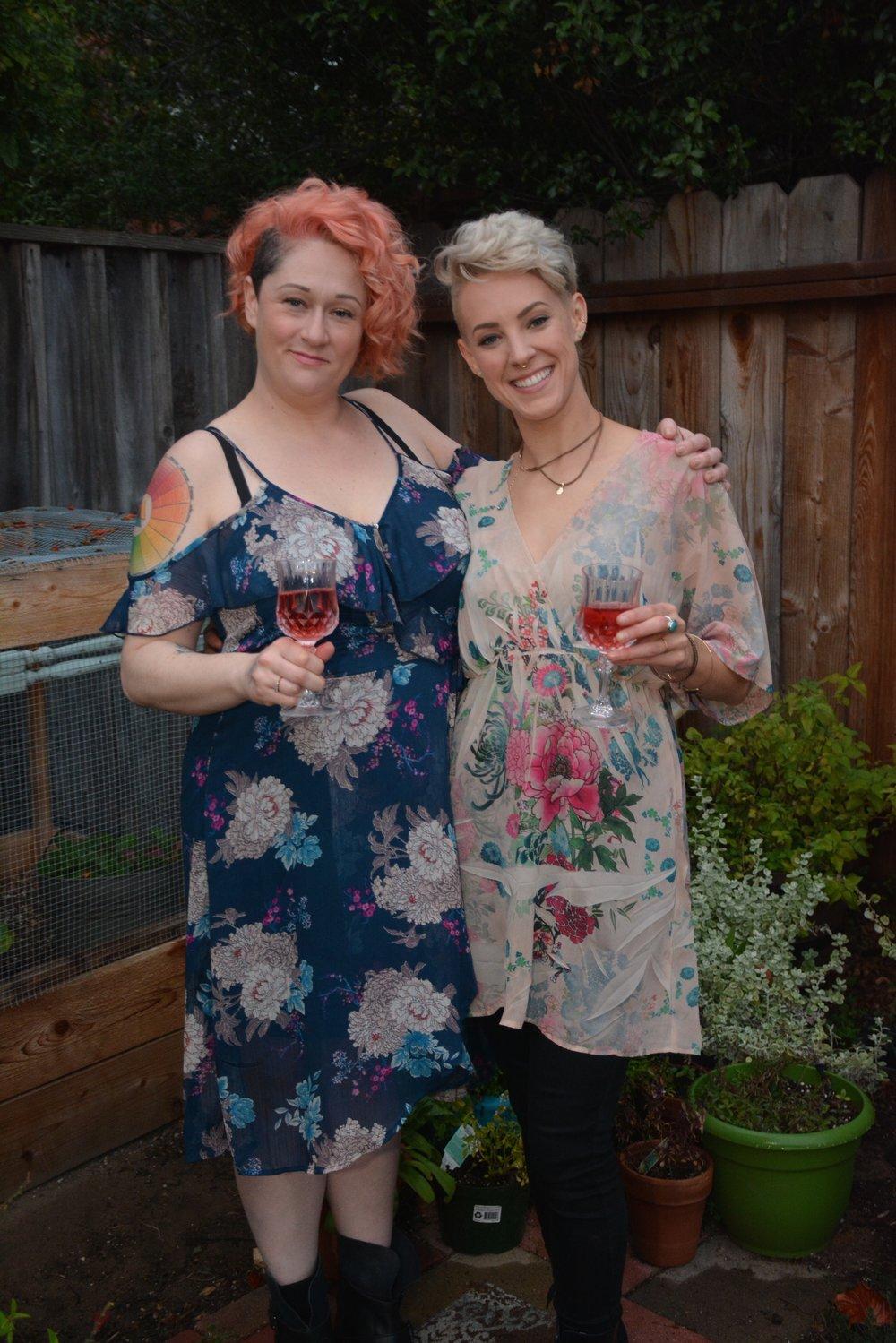 Sophia & Rachel Wine& Cannabis Pairings
