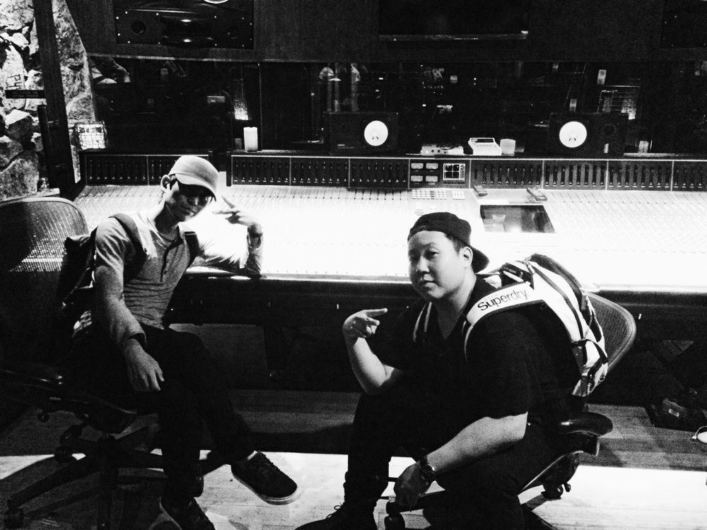 Mister Rocks & Edward Shin at Paramount Studio C