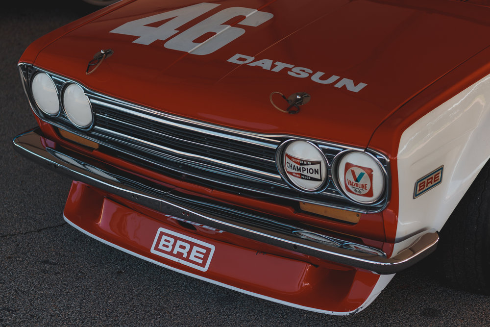 BRE Datsun 510 in the flesh