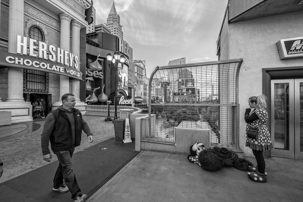 Minnie Mouse in Las Vegas. ©michelporro