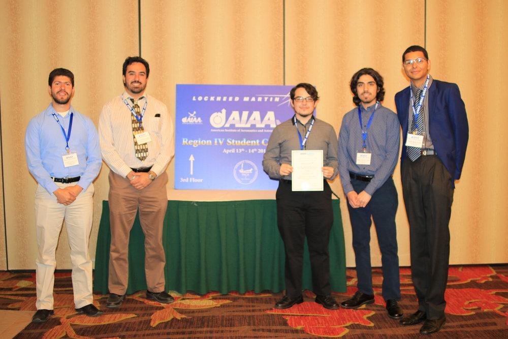 Concurso estudiantil AIAA Albuquerque NM 2018.