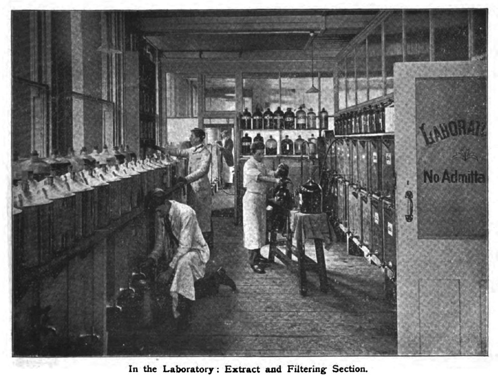 Photograph from the Review of Reviews, 1903