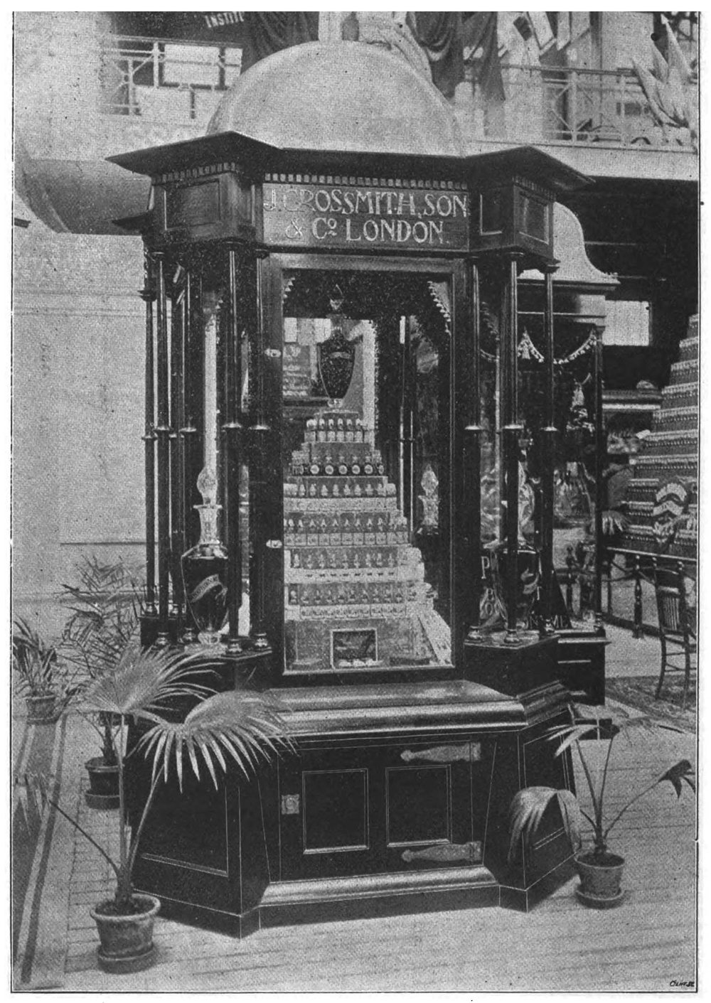 Grossmith display at the Brussels International Exhibition 1897