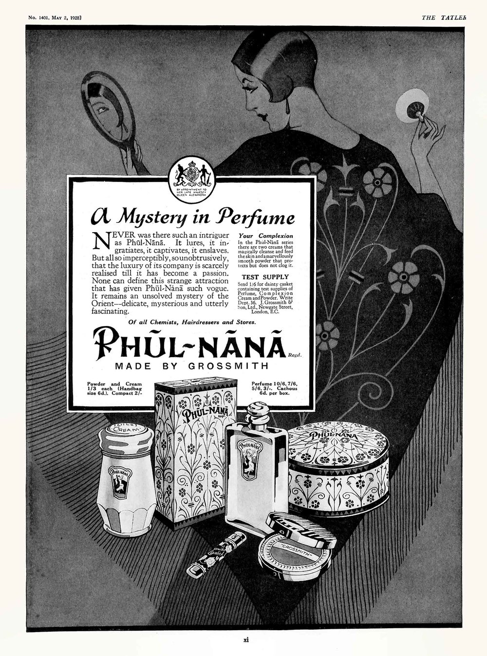 Grossmith - Phul-Nana Advert - The Tatler - 2 May 1928.jpg