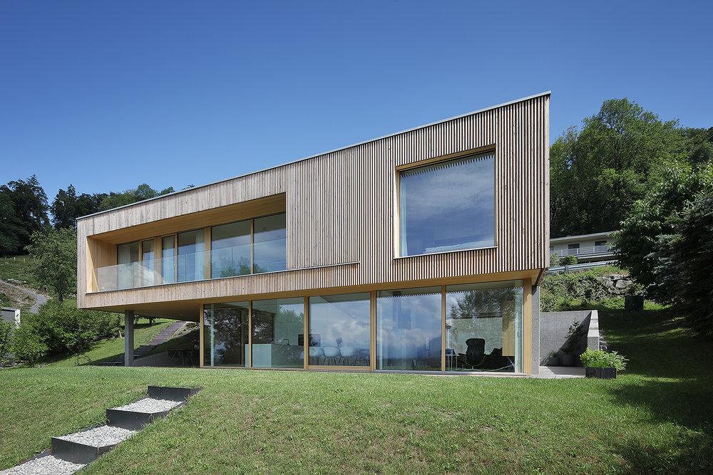 Einfamilienhaus Architektur Jurgen Hagspiel